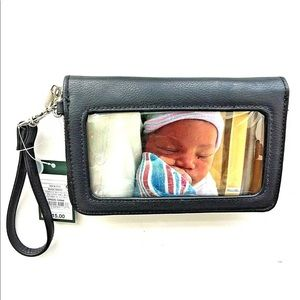 Zip Wallet W/Photo/ Cellphone carrier  Wild Fable